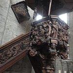 Otro detalle del púlpito