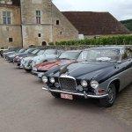 Rallye de voiture de la marque Jaguar