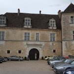 Vue de l'entrée du chateau