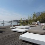 Terrasse am Strand Pension am Bodensee