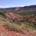 Beautiful vistas in Palo Duro Canyon