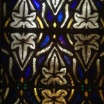 close up stain glass