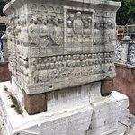 Obelisk and inscription