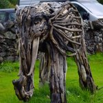 The driftwood Airlie-phant.