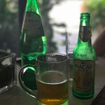 Portuguese water and Macau beer