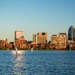 Charles River and Boston skyline