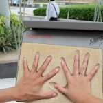 Hand Print of Jackie Chan