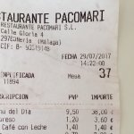 Photo of Restaurante Pacomari