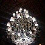 Lobby chandalier