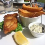 Small fish and chips