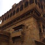 The beautifully designed Salim Singhji ki Haveli