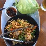 Lettuce wraps w/ shrimp