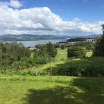18th hole at Gourock GC