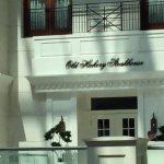 Restaurant exterior and menu 8/2017