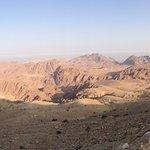 Montañas de Petra desde el hotel