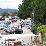 Parking du somail - Gendarmerie en pleine action de verbalisation de tous les véhicules!!