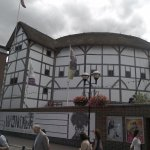 View of outside The Globe.