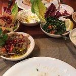 Wir waren spontan hier und wurden in die arabische Küche entführt. Unglaublich lecker.