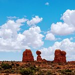 Balanced Rock Trail, Arches National Park, Moab, UT