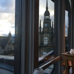 View from restaurant (7th floor) looking toward Buchanan Street