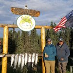 Second day of fishing on the Kenai. LImited in 2 hours. Good thing as it was about 40 degrees on