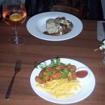 Dinner - The main course - I had boeuf bourgignon