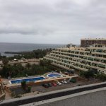 the view from top of the hotel