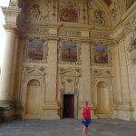 Wallenstein Palace portico