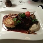 well cooked fillet steak