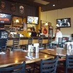 Sammy's Bistro Inside tables and bar