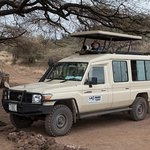 Our Safari Vehicle from Leopard Tours