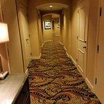 Hallway of hotel.