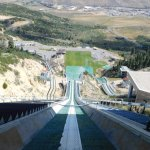 Starting Gate For 120 meter Olympic Men's Ski Jump