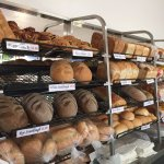 Our range of fresh breads including the very popular sourdoughs