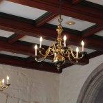 The chandelier