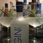 The Lakes Gin at lunchtime ! Perfect