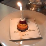 It's how looks like officially ordered  Birthday cake for 5 guest, that we order for our yacht c