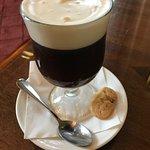 Afternoon Irish coffee