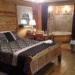 Inside Seneca cabin.