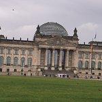 Plenarbereich Reichstagsgebäude Foto
