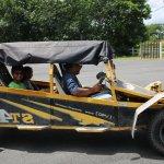 The new Rang Car at Buffalo Park