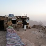 snack stand at the top