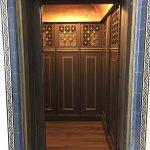 The original hotel elevator
