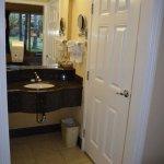 Deluxe Room Restroom Had Sink