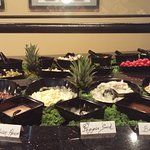 Chappell's very own Sou Chef Brian Stewart brings Ft. Wayne it's biggest and best salad bar!