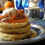 Gourmet Breakfast at the Carleton House Bed & Breakfast, yum!
