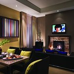Hospitality Villa Living Room at Sunset Marquis