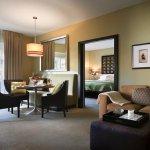 1-Bedroom Villa Living Room at Sunset Marquis