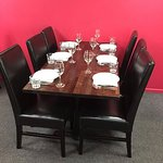 Restaurant Table set up for Booking