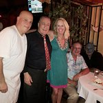 Chef Joey, Our Waiter and Us - A Great Night